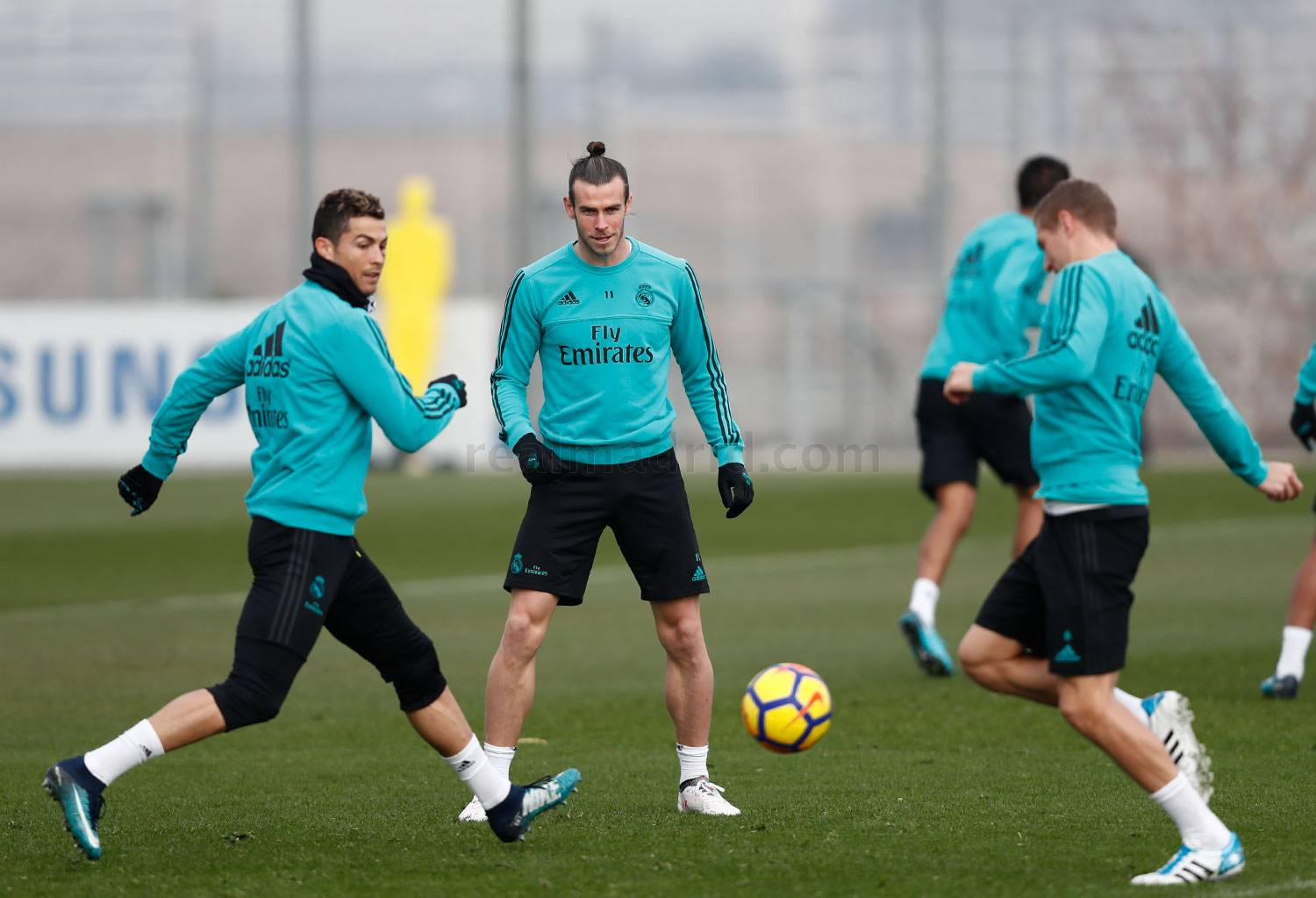 Real Madrid - Entrenamiento del Real Madrid - 25-01-2018