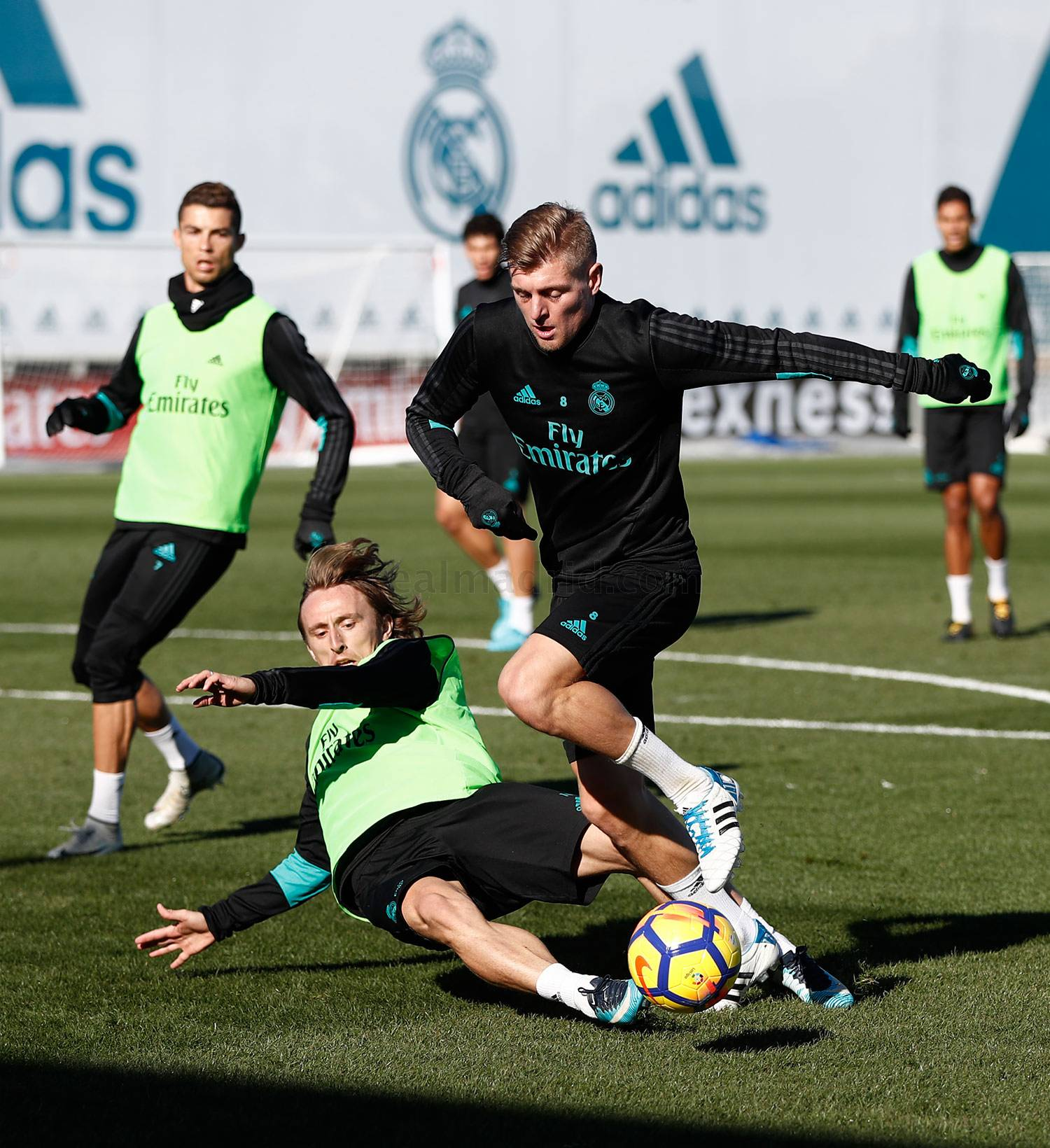 Real Madrid - Entrenamiento del Real Madrid - 29-11-2017