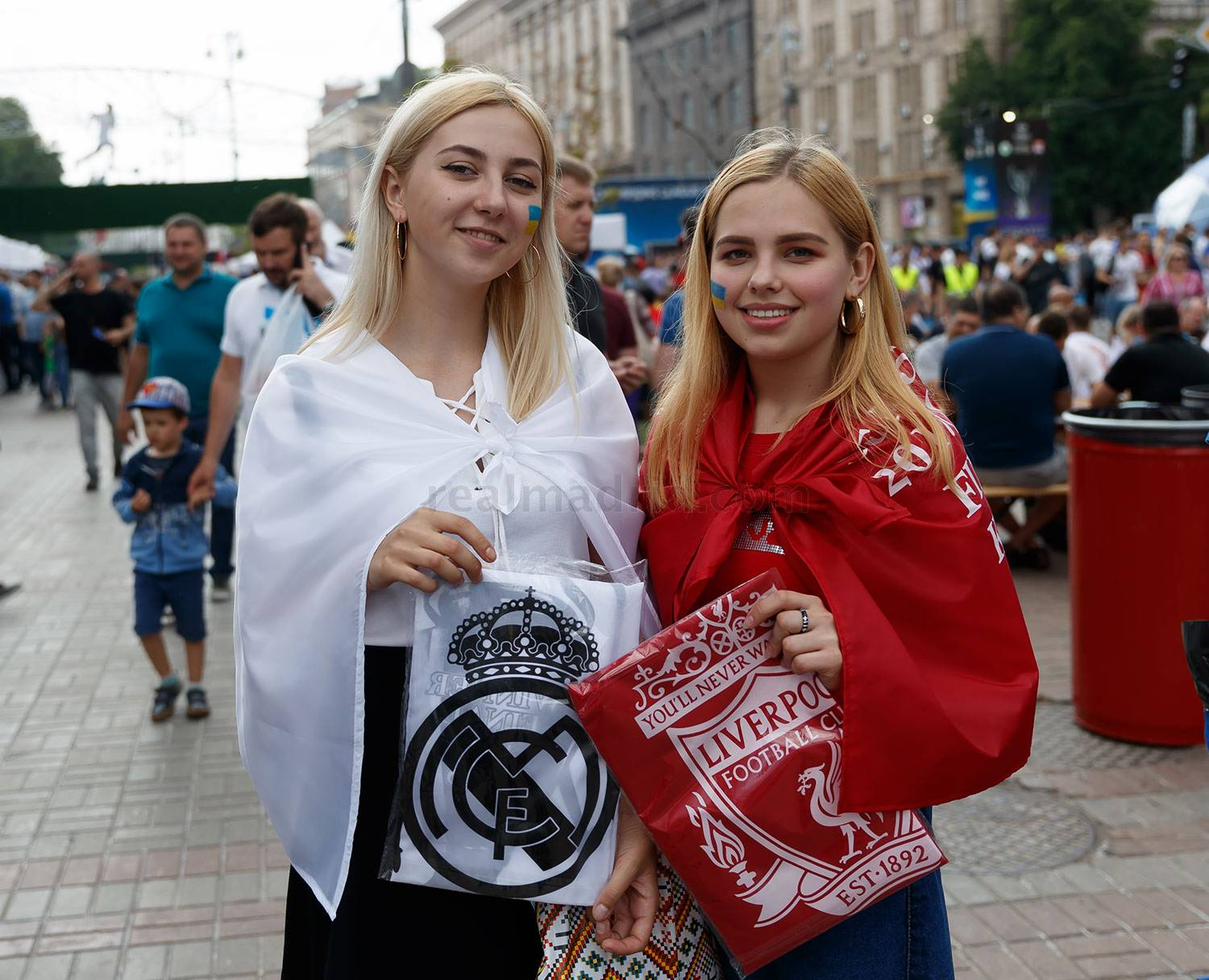 Real Madrid - Fan zone del Real Madrid en Kiev - 25-05-2018