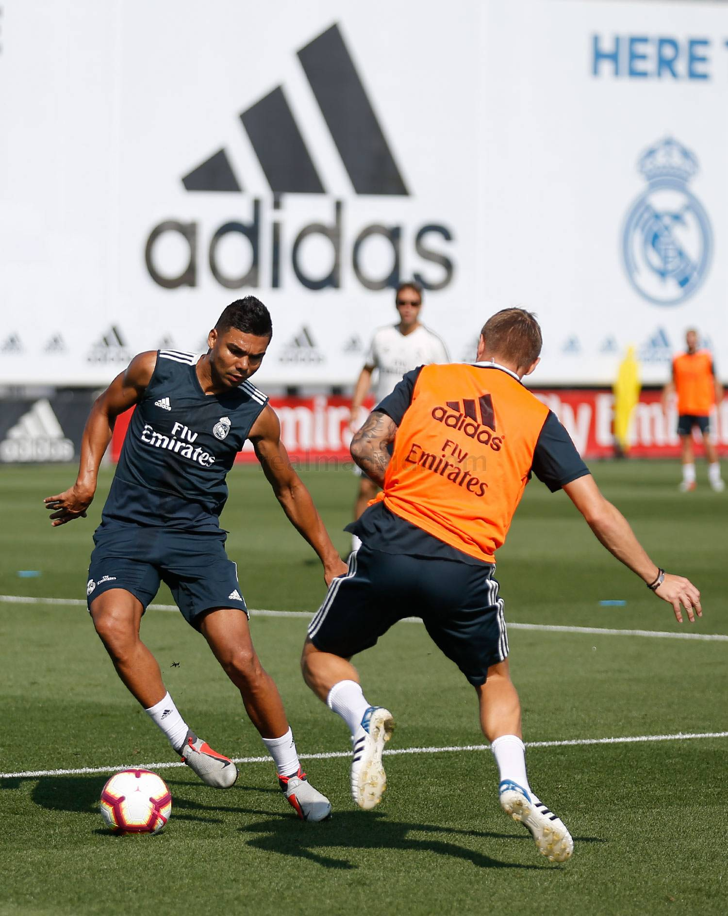 Real Madrid - Entrenamiento del Real Madrid - 30-08-2018