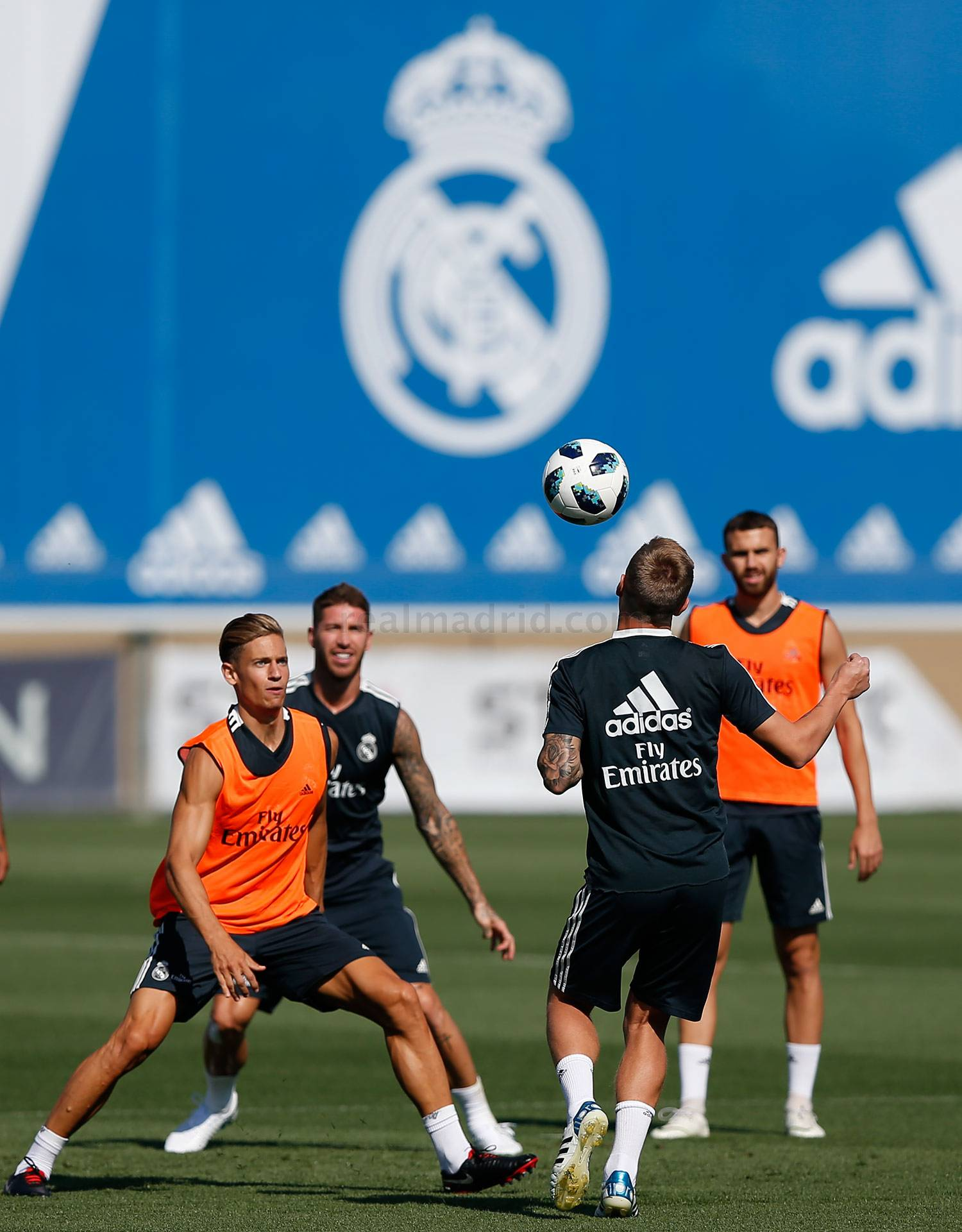 Real Madrid - Entrenamiento del Real Madrid - 13-08-2018