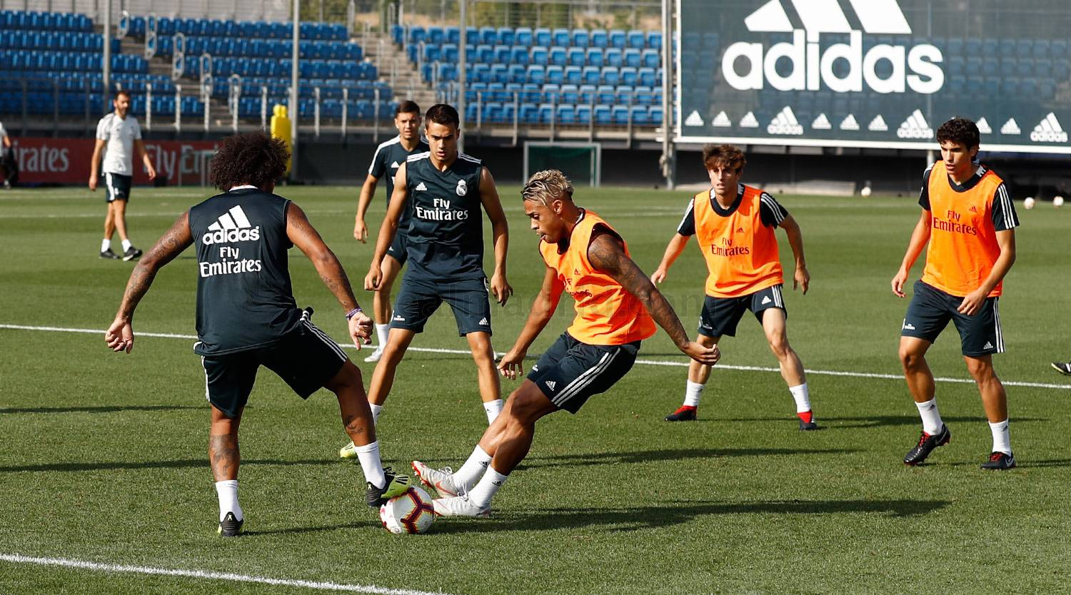 Real Madrid - Entrenamiento del Real Madrid - 06-09-2018