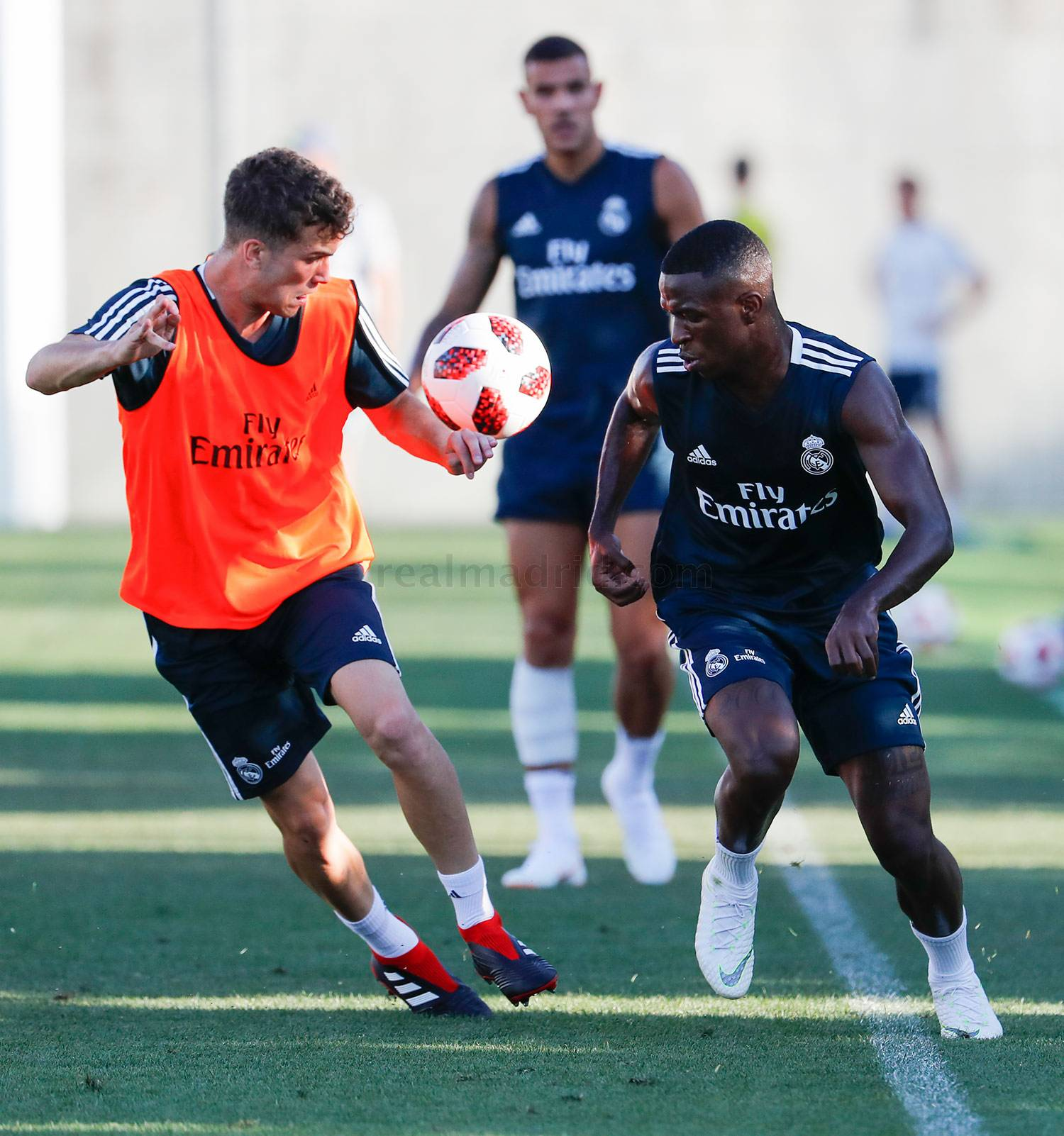 Real Madrid - Entrenamiento del Real Madrid - 27-07-2018