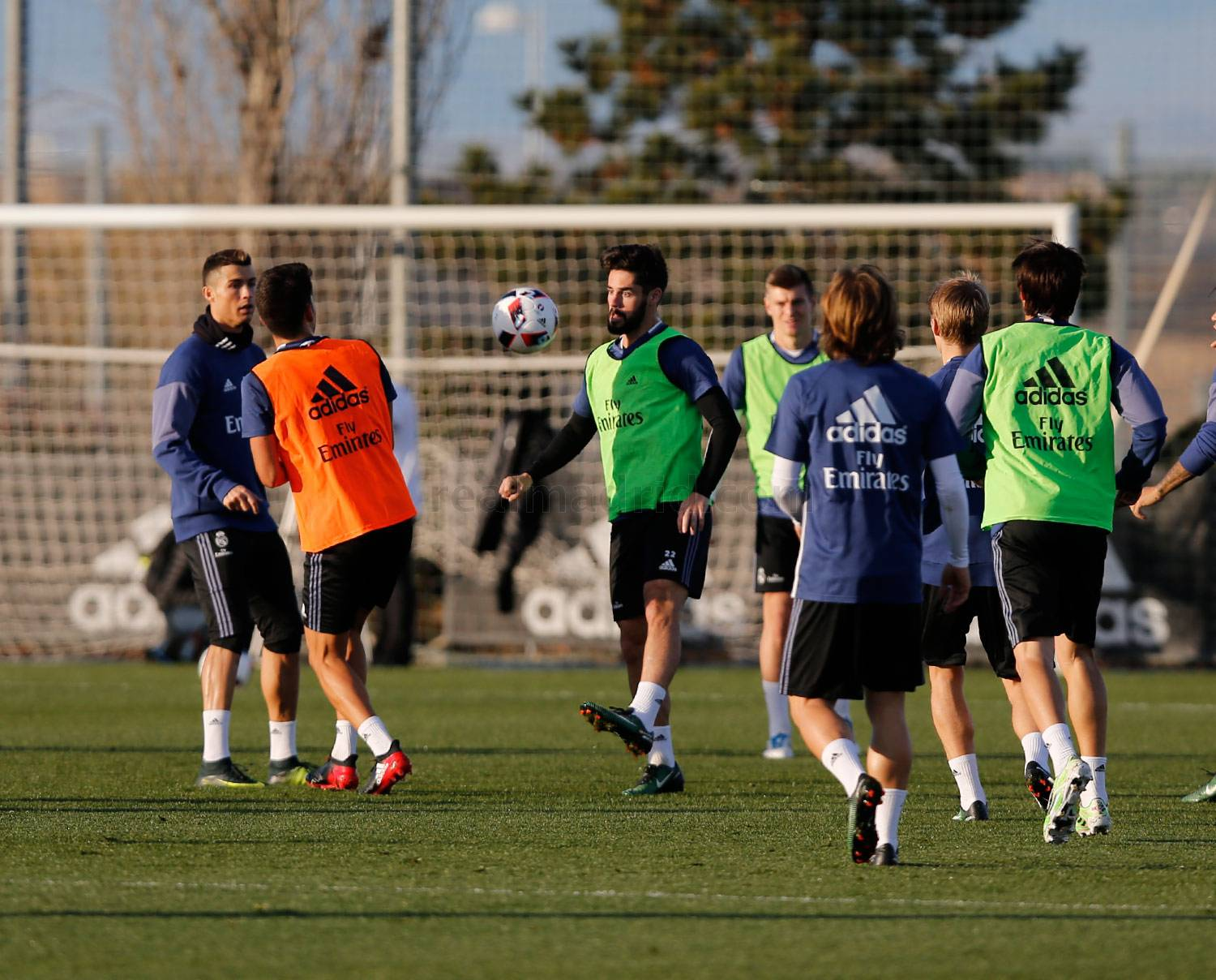 Real Madrid - Entrenamiento del Real Madrid - 27-12-2016