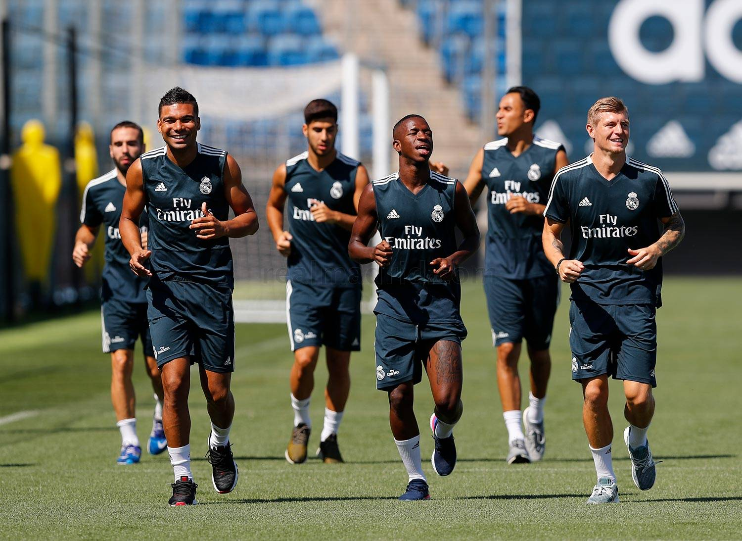 Real Madrid - Entrenamiento del Real Madrid - 27-08-2018