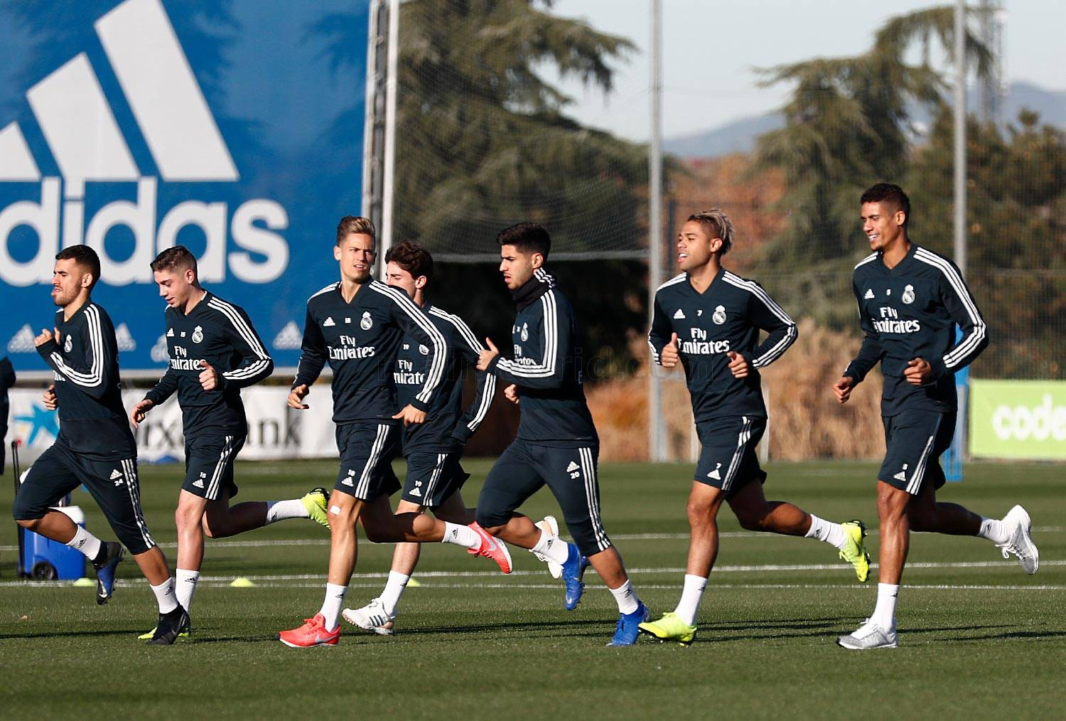 Real Madrid - Entrenamiento del Real Madrid - 10-12-2018
