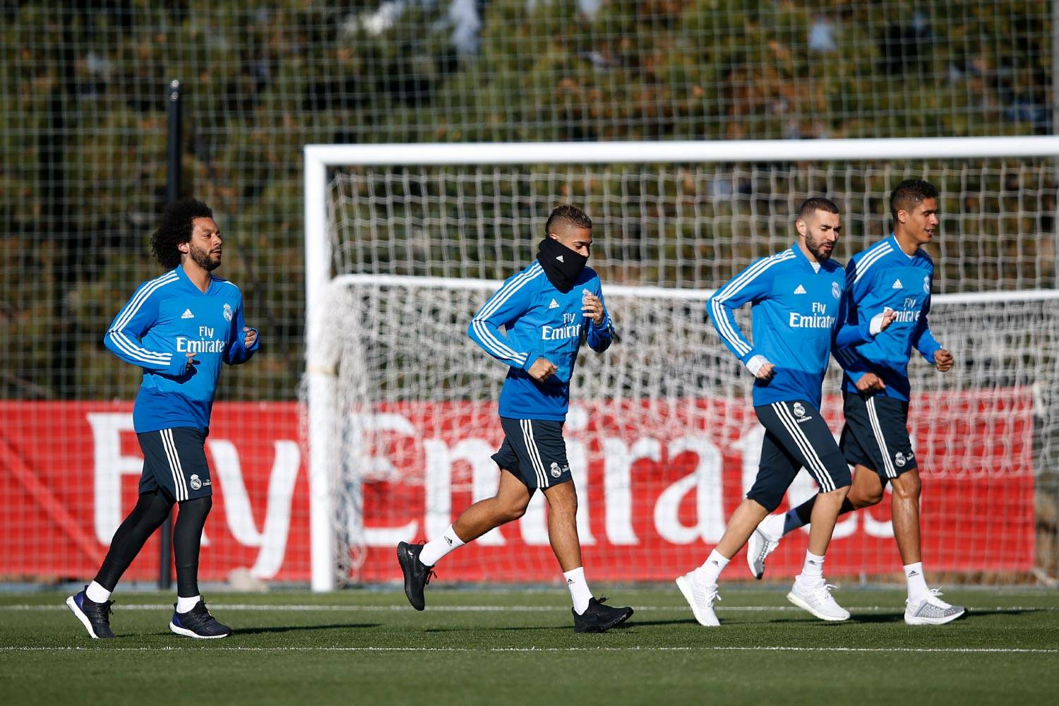 Real Madrid - Entrenamiento del Real Madrid - 30-12-2018