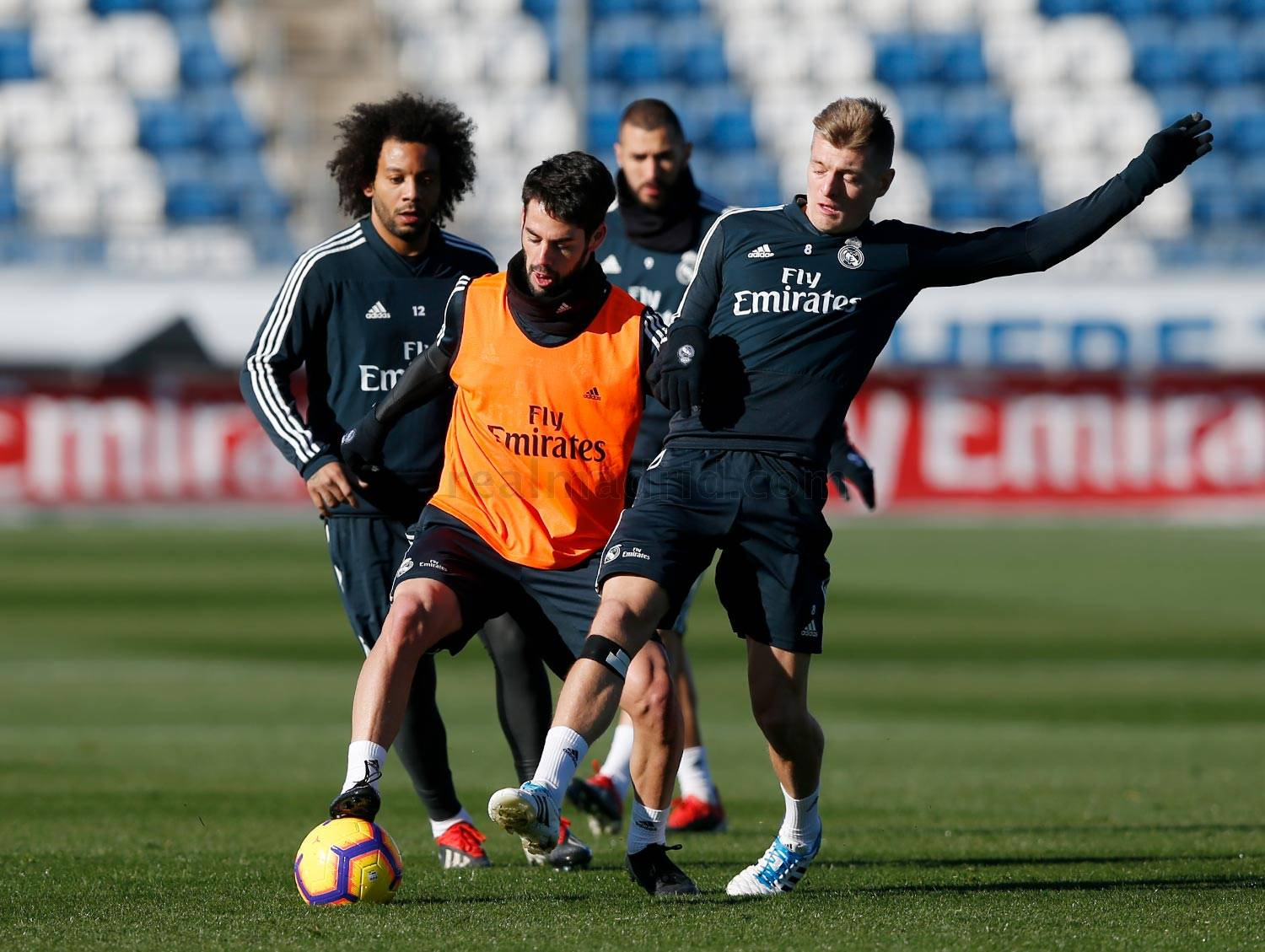Real Madrid - Entrenamiento del Real Madrid - 14-12-2018
