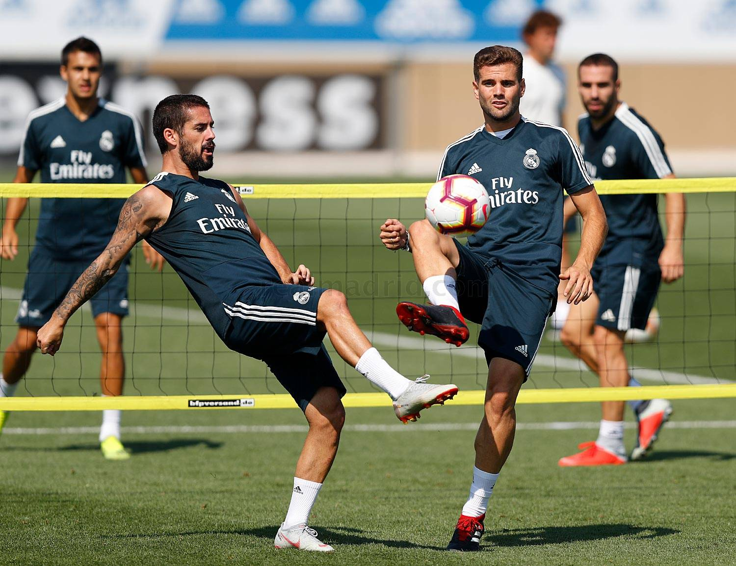 Real Madrid - Entrenamiento del Real Madrid - 24-08-2018