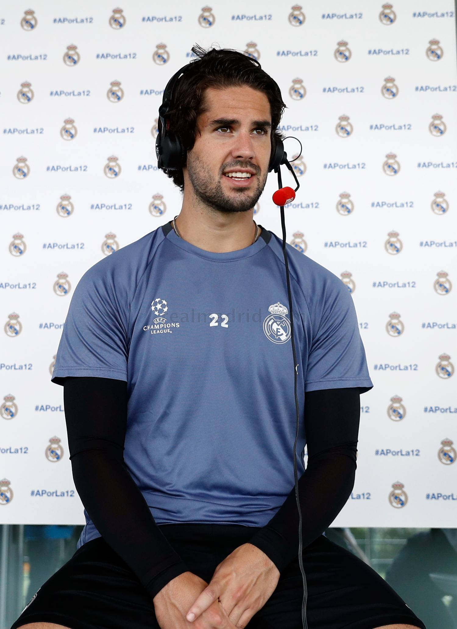 Real Madrid - Isco durante el Open Media Day 2017 - 30-05-2017
