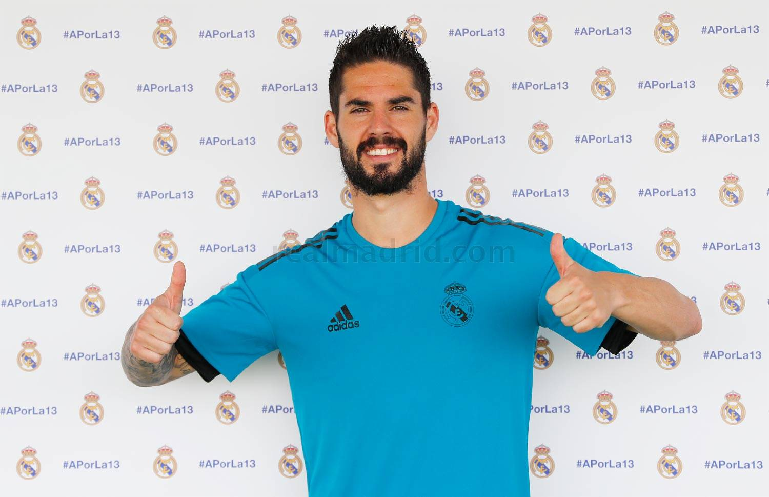 Real Madrid - Isco durante el Open Media Day 2018 - 22-05-2018