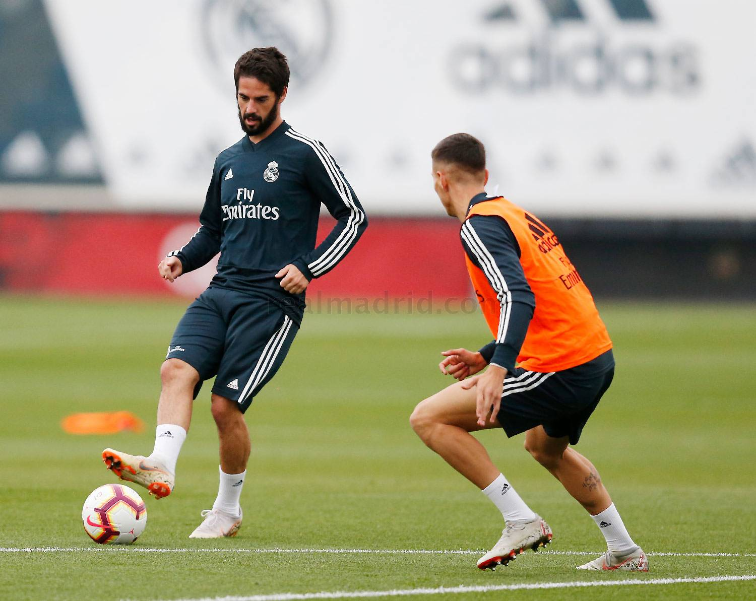 Real Madrid - Entrenamiento del Real Madrid - 15-10-2018