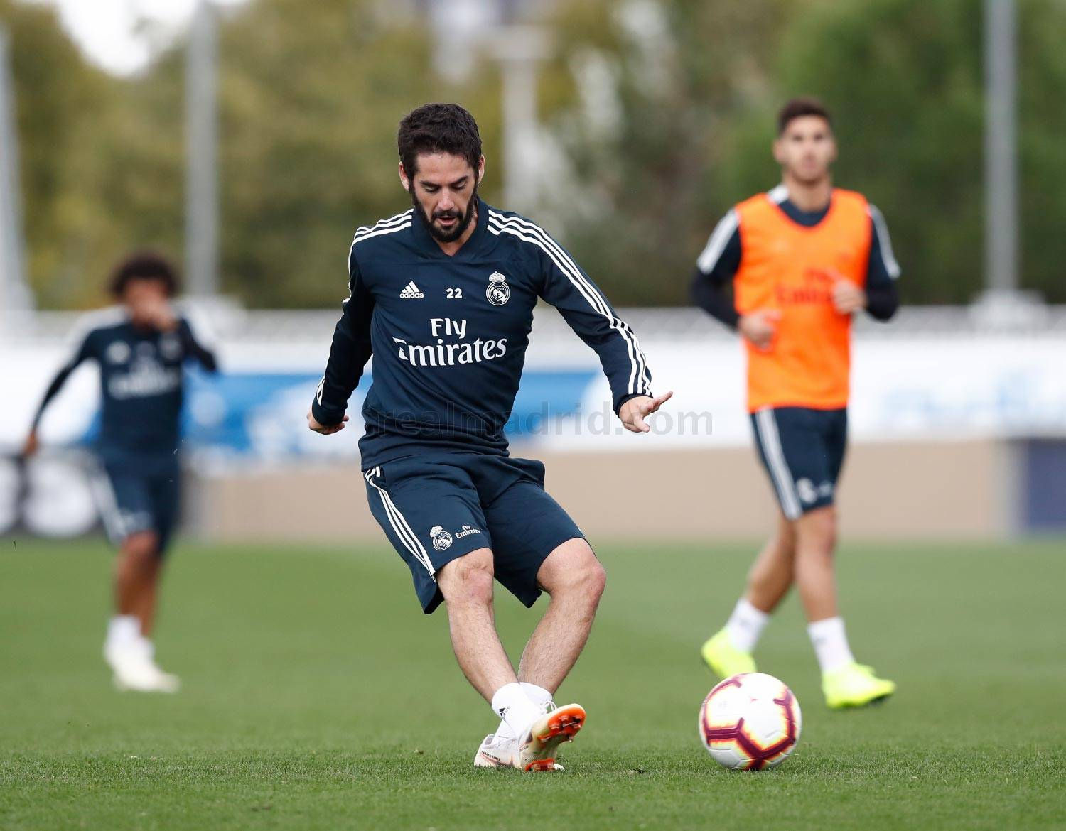 Real Madrid - Entrenamiento del Real Madrid - 19-10-2018