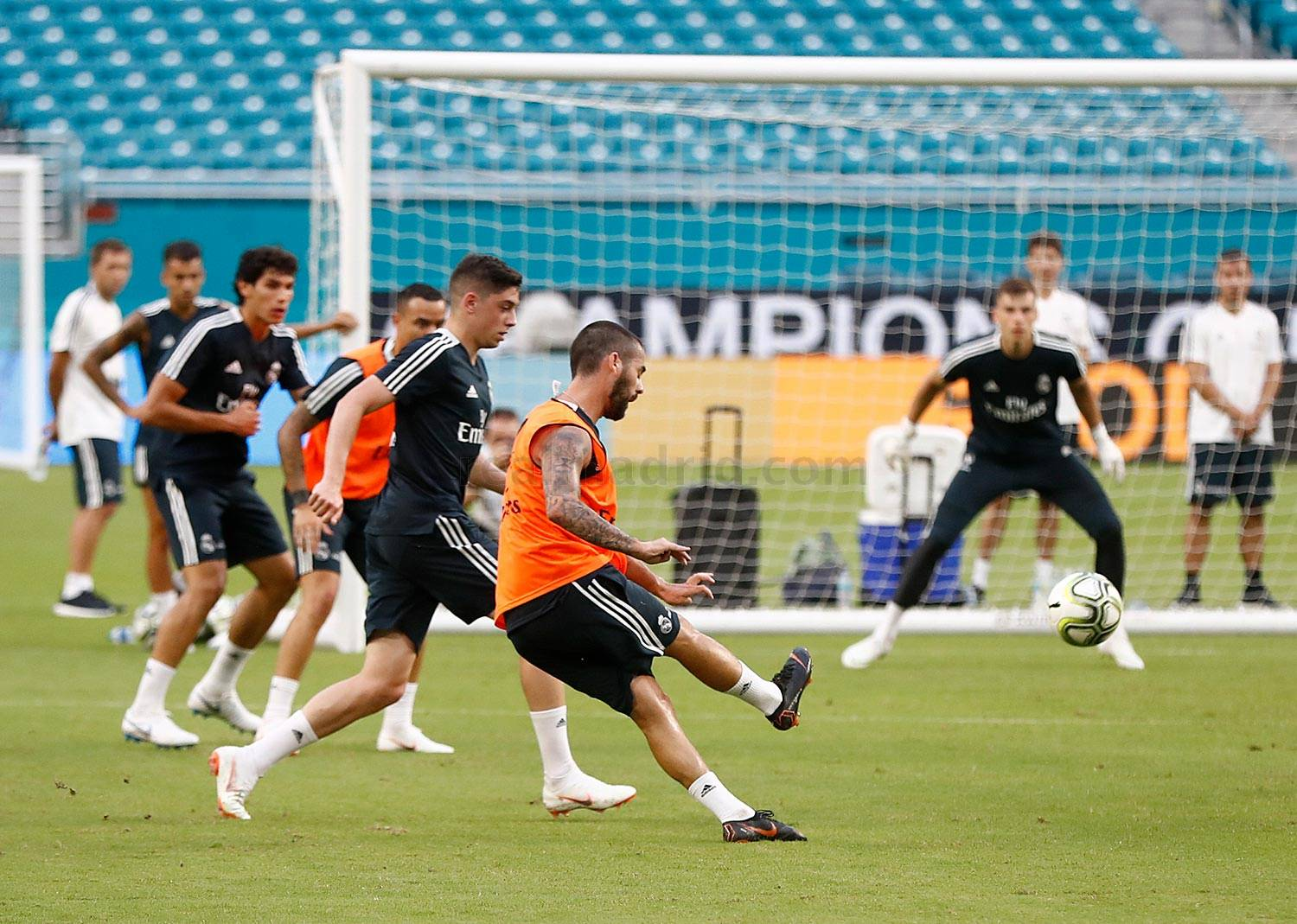 Real Madrid - Entrenamiento del Real Madrid en el Hard Rock Stadium - 31-07-2018