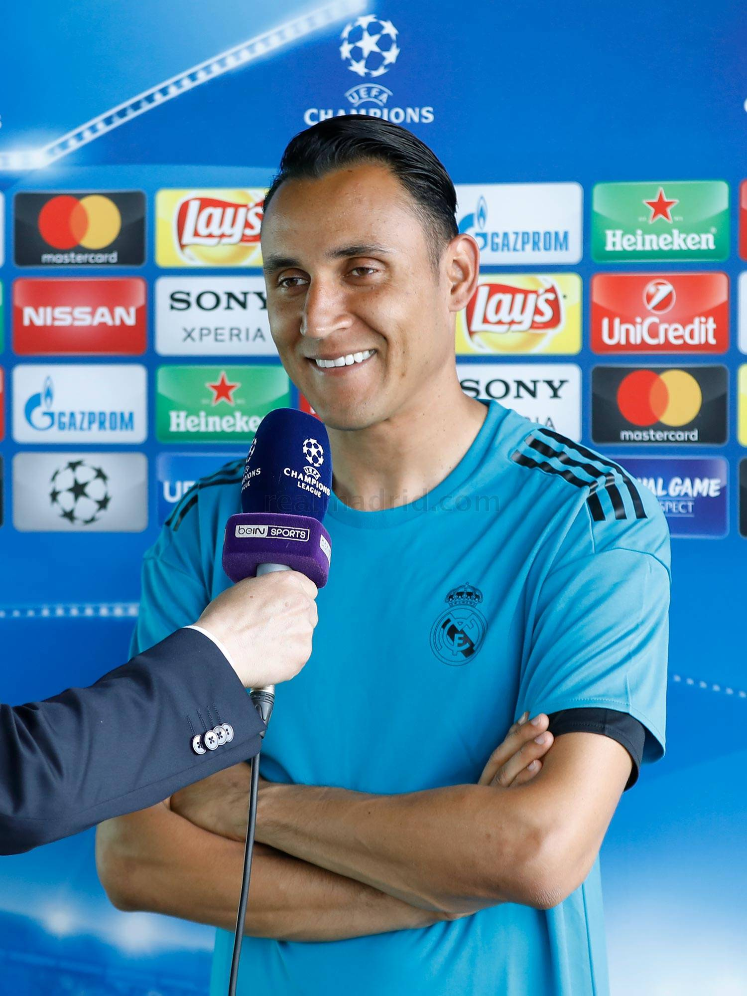 Real Madrid - Keylor durante el Open Media Day 2018 - 22-05-2018