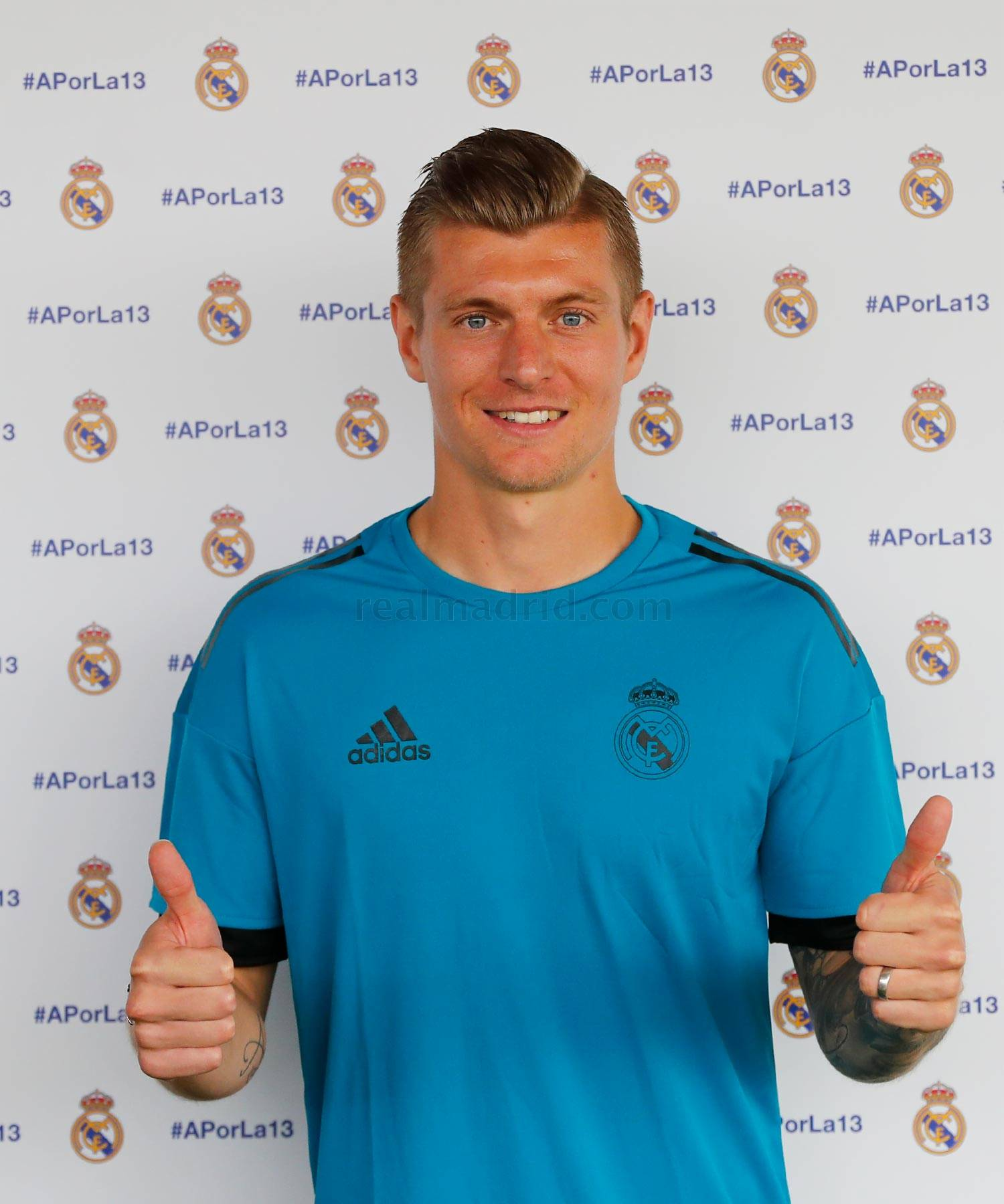 Real Madrid - Kroos durante el Open Media Day 2018 - 22-05-2018