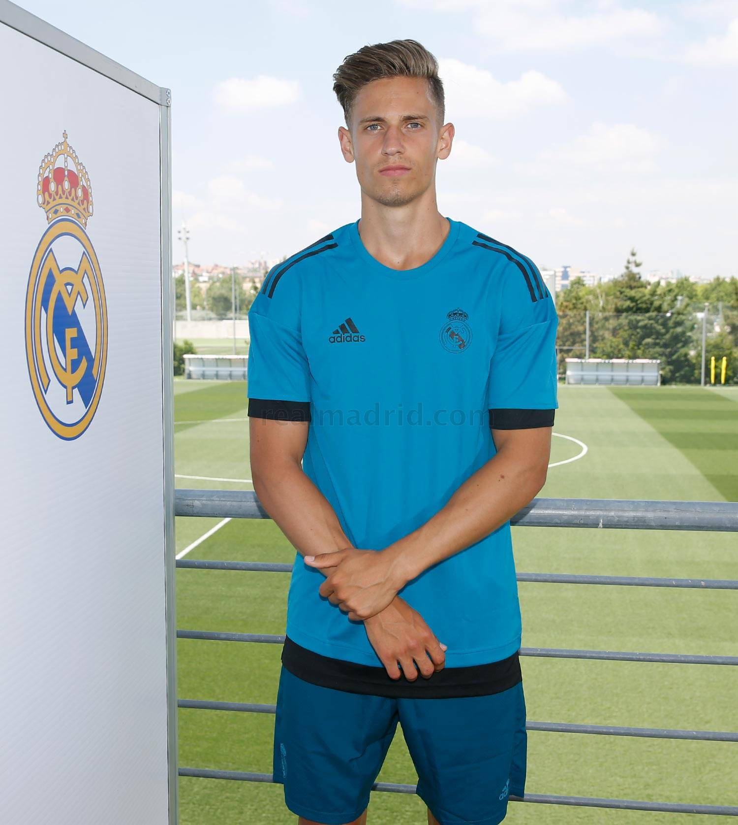 Real Madrid - Llorente durante el Open Media Day 2018 - 22-05-2018