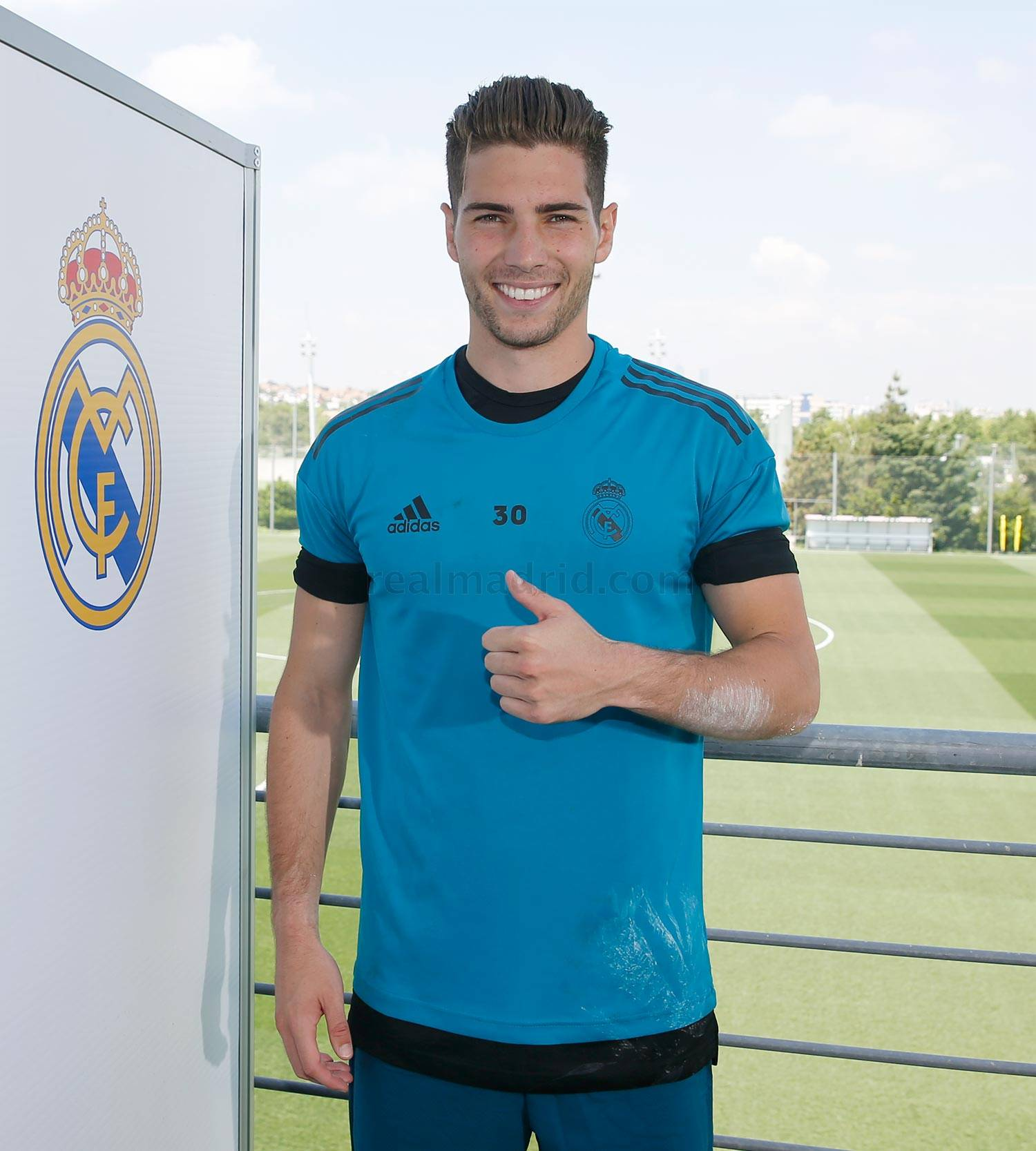 Real Madrid - Luca durante el Open Media Day 2018 - 22-05-2018
