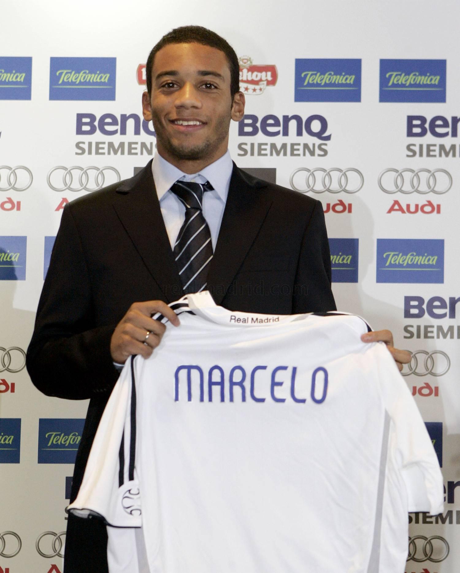 10 سنوات على تقديم مارسيلو مع ريال مدريد صور