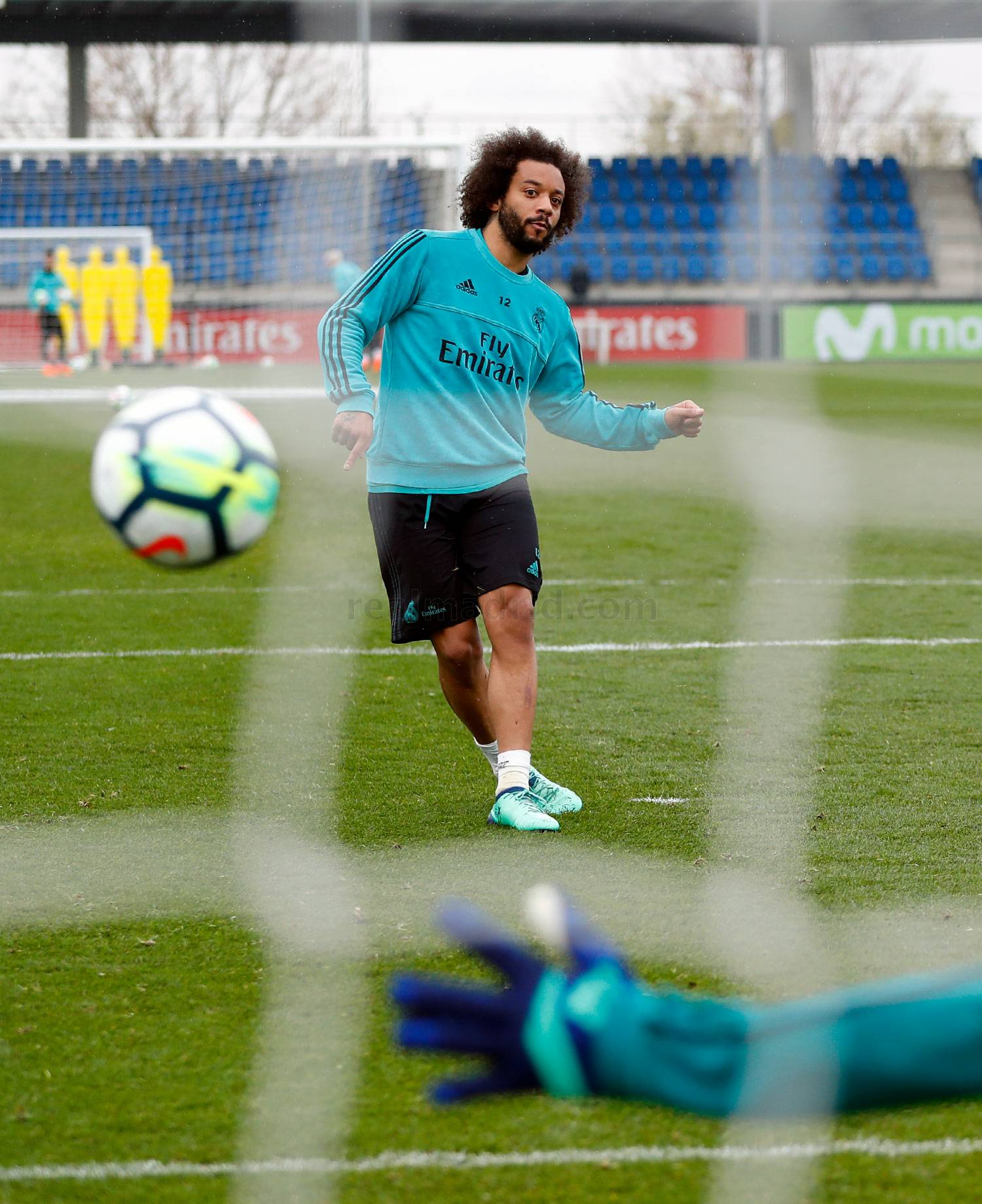 Real Madrid - Entrenamiento del Real Madrid - 07-04-2018
