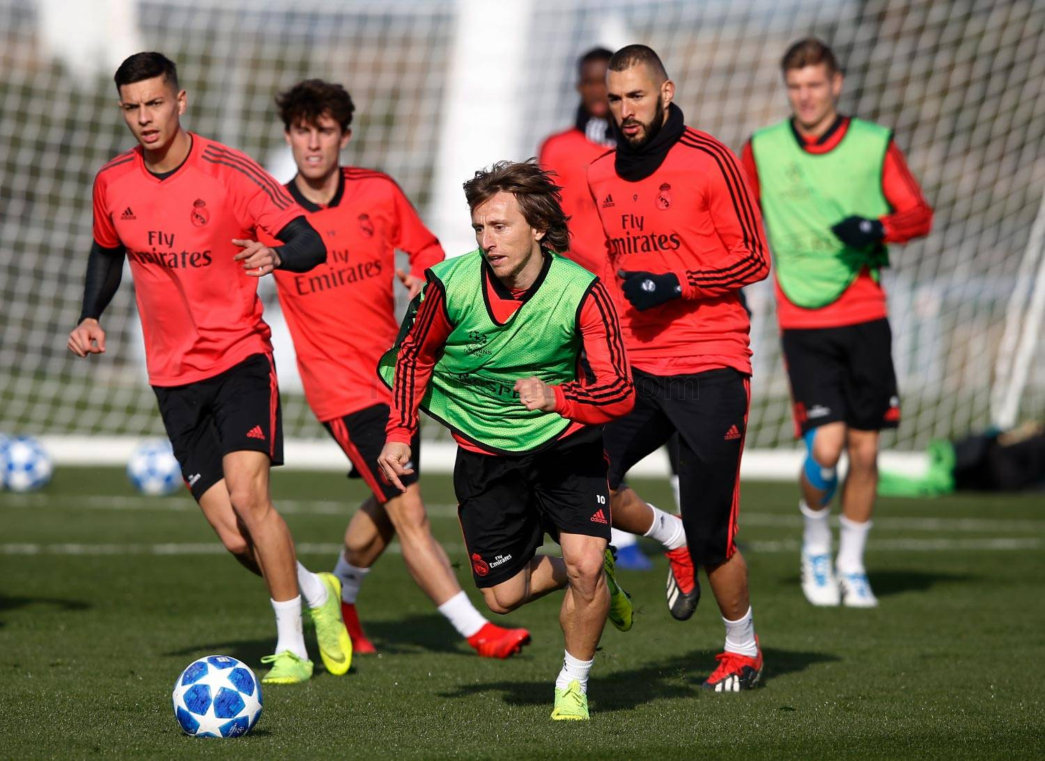 Real Madrid - Entrenamiento del Real Madrid - 11-12-2018