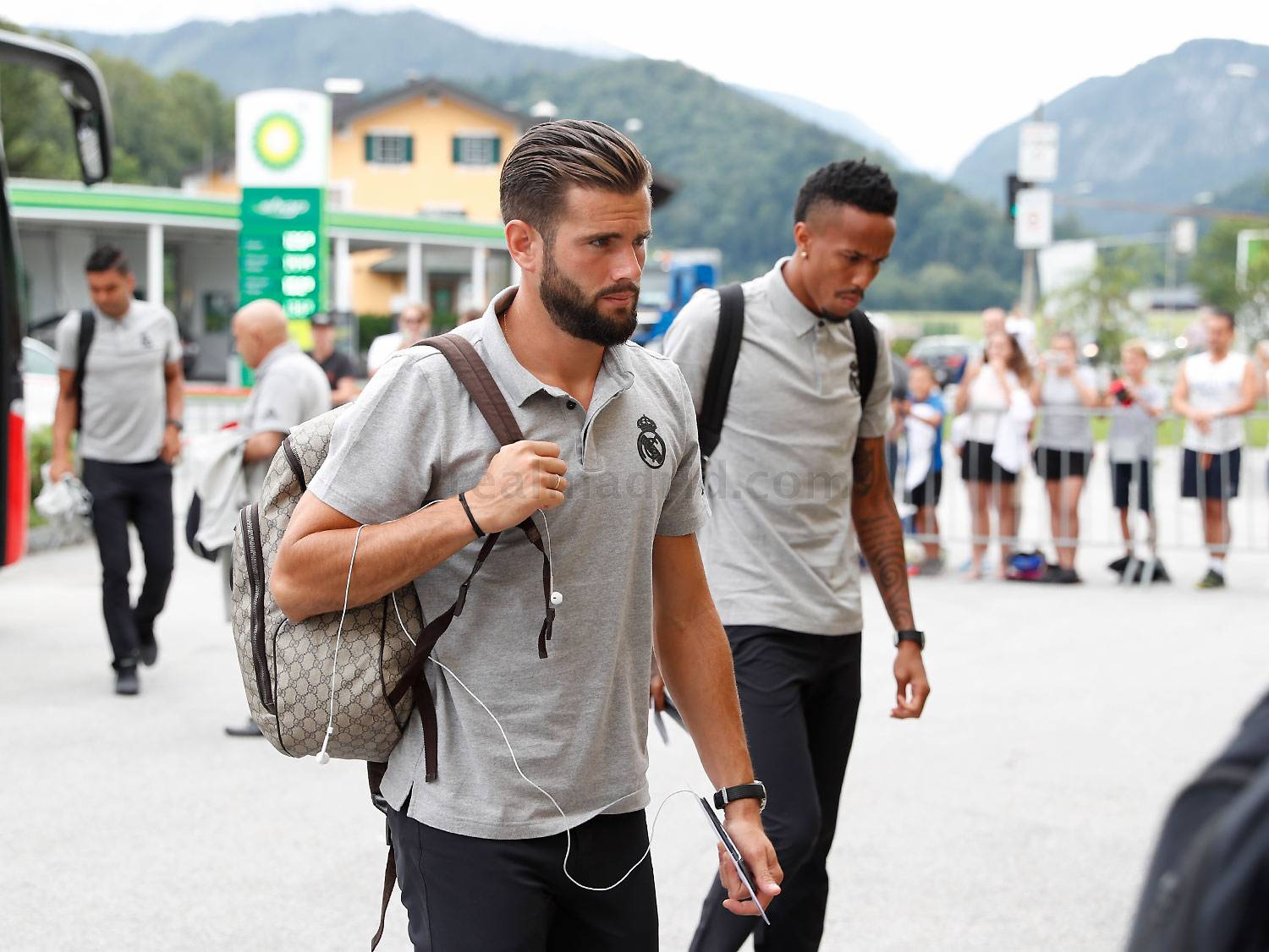 Real Madrid - Llegada del Real Madrid a Salzburgo - 07-08-2019