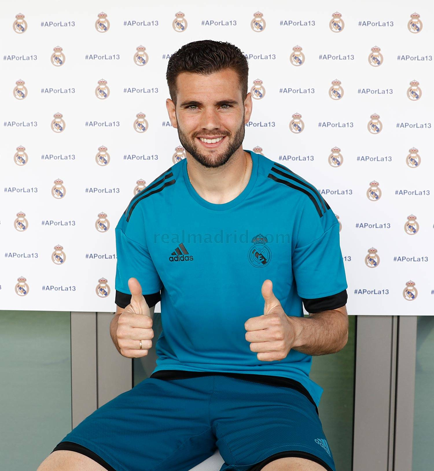 Real Madrid - Nacho durante el Open Media Day 2018 - 22-05-2018