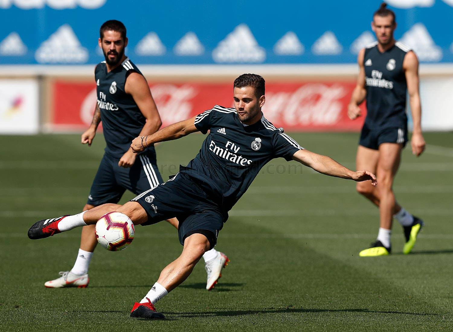 Real Madrid - Entrenamiento del Real Madrid - 25-08-2018