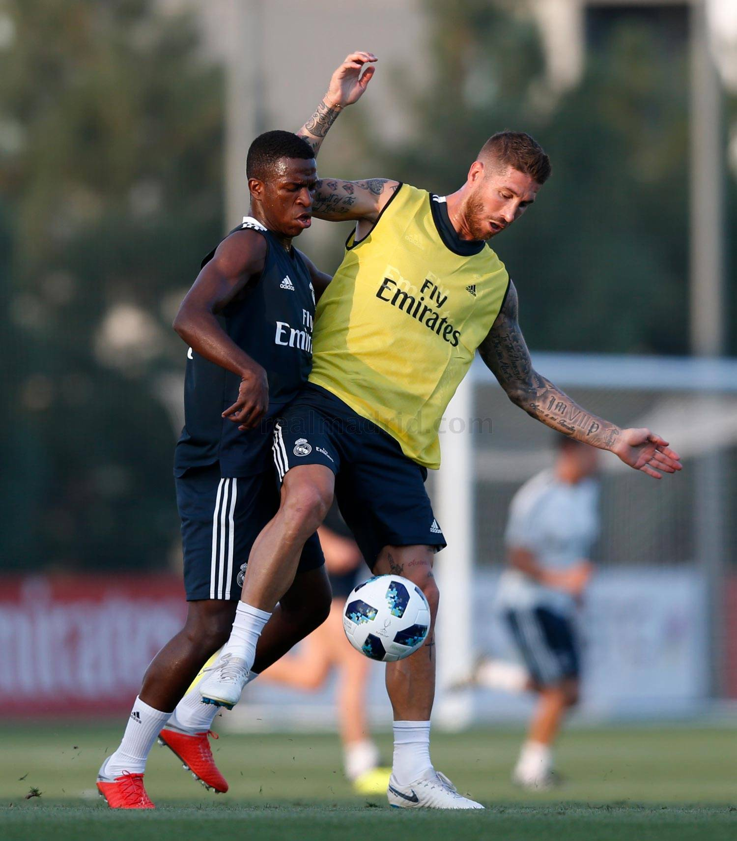Real Madrid - Entrenamiento del Real Madrid - 09-08-2018