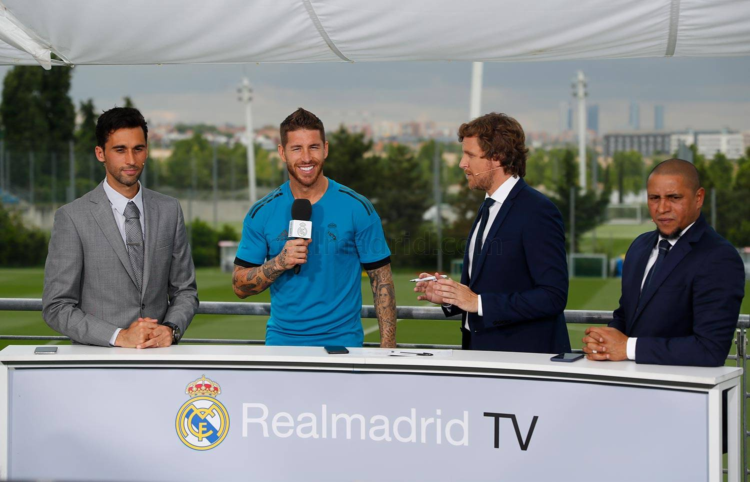 Real Madrid - Ramos durante el Open Media Day 2018 - 22-05-2018