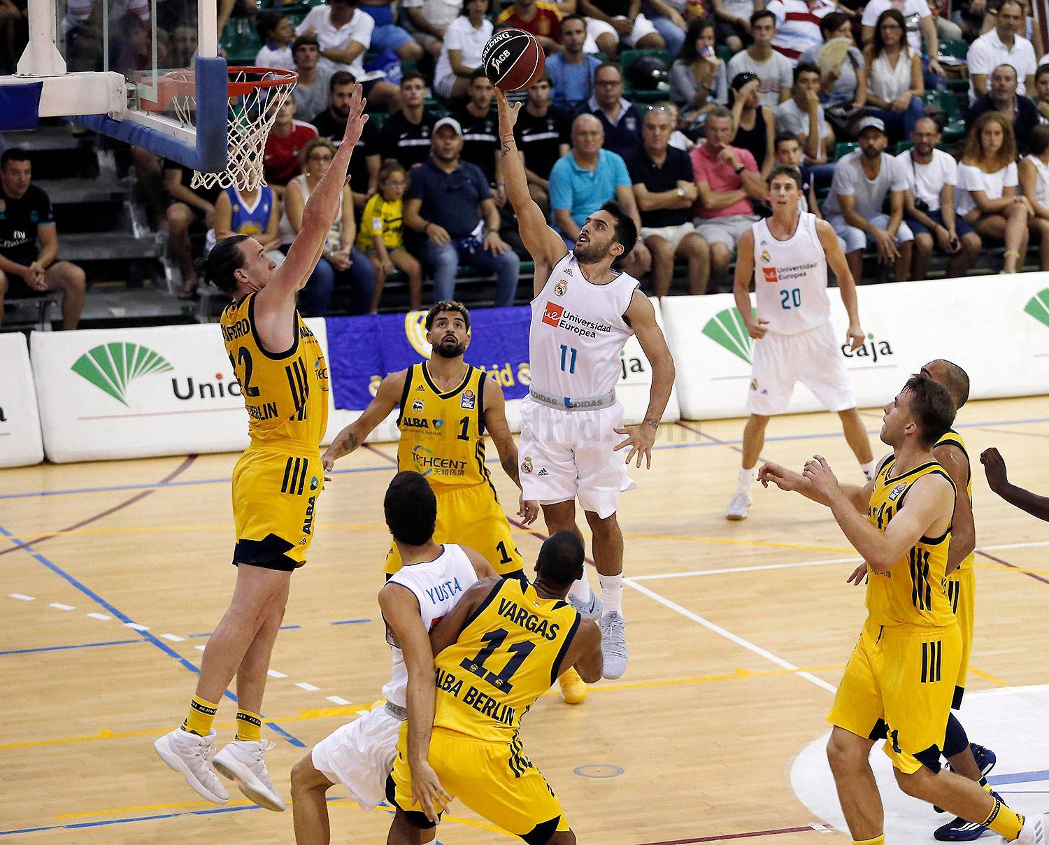 Real Madrid - Real Madrid - Alba Berlin - 08-09-2017