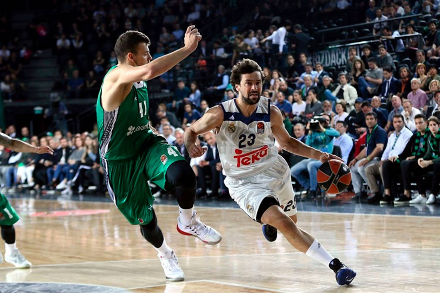 Real Madrid - Darussafaka - Real Madrid - 28-04-2017