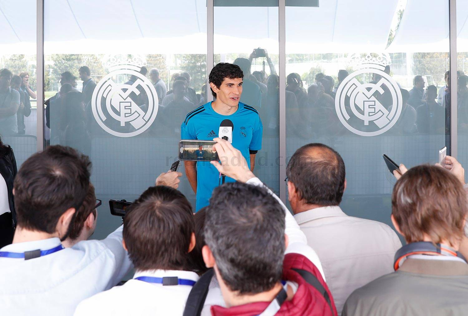 Real Madrid - Vallejo durante el Open Media Day 2018 - 22-05-2018