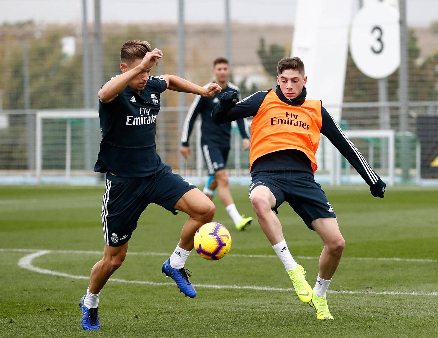Real Madrid - Entrenamiento del Real Madrid - 08-11-2018
