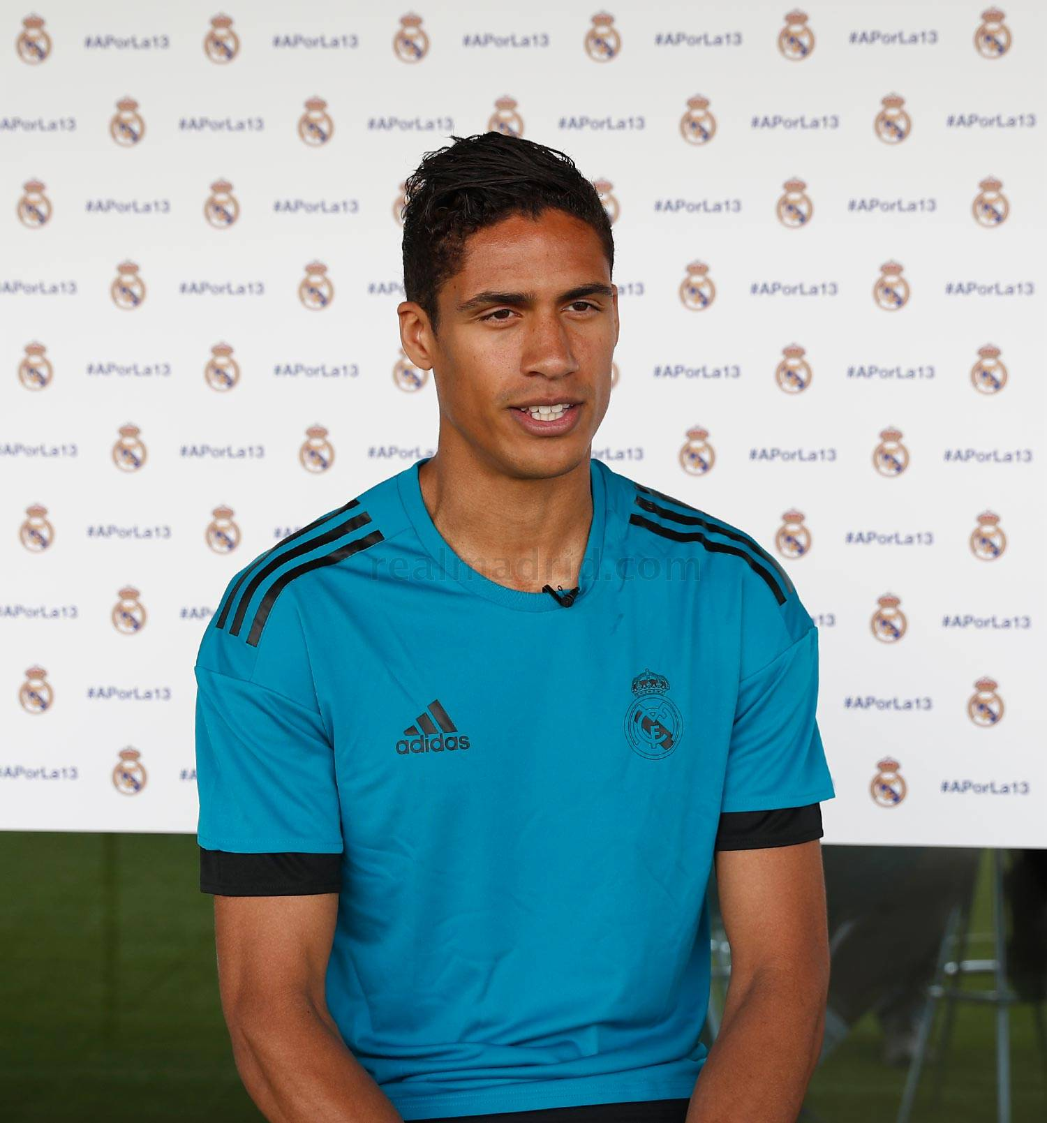 Real Madrid - Varane durante el Open Media Day 2018 - 22-05-2018