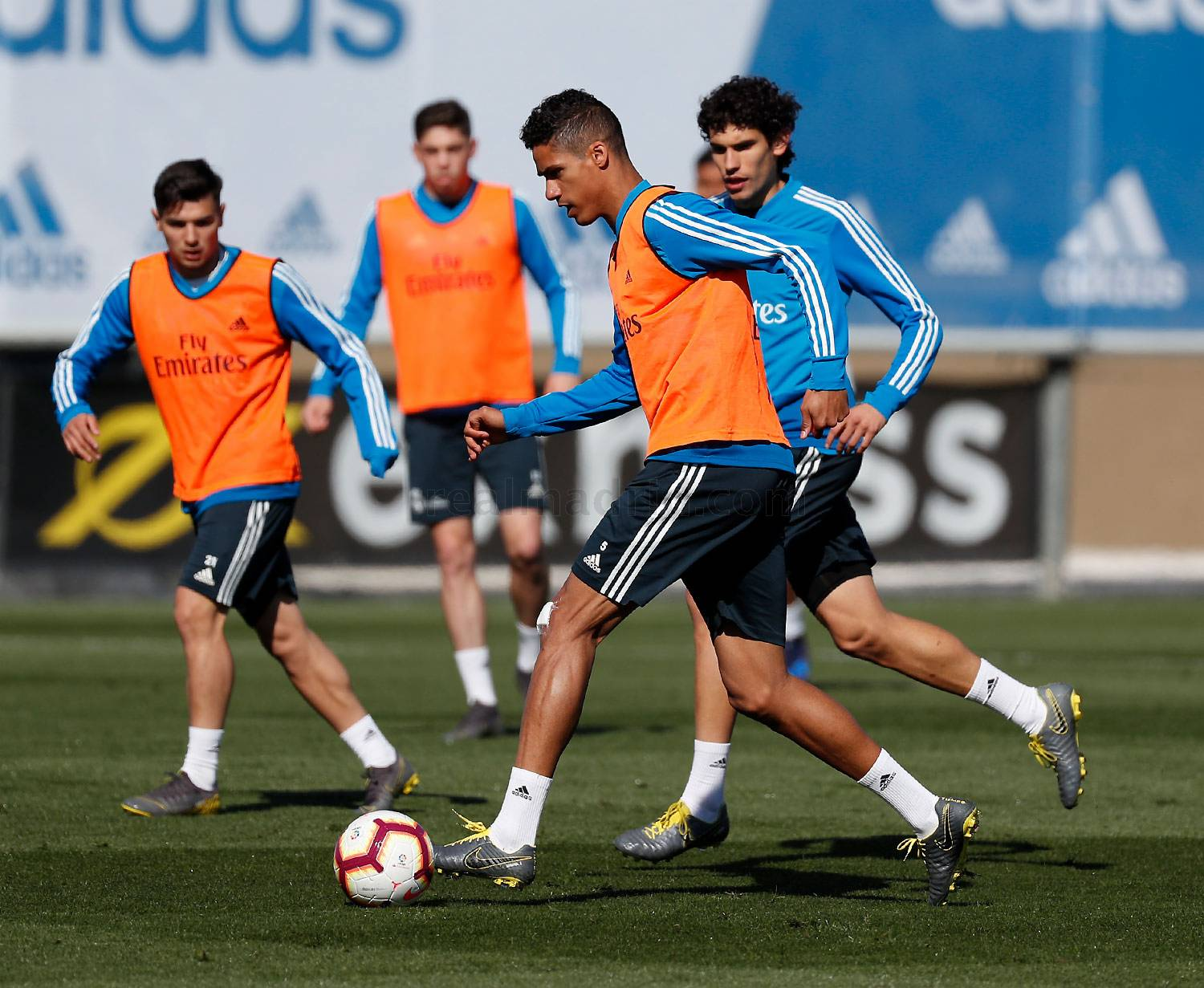Real Madrid - Entrenamiento del Real Madrid - 08-03-2019