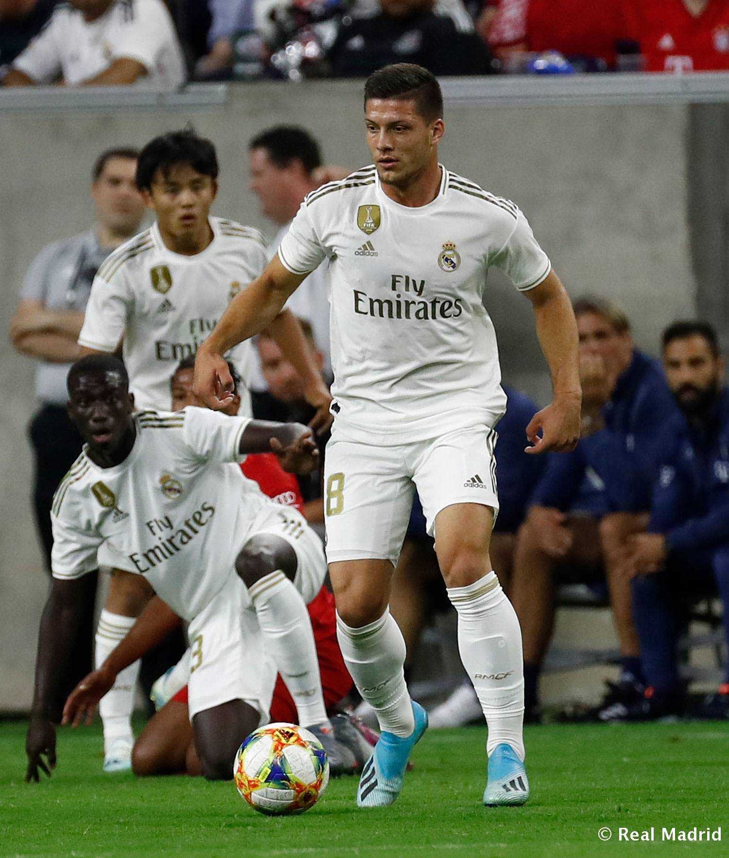 Real Madrid - Debut de Jović con el Real Madrid - 21-07-2019