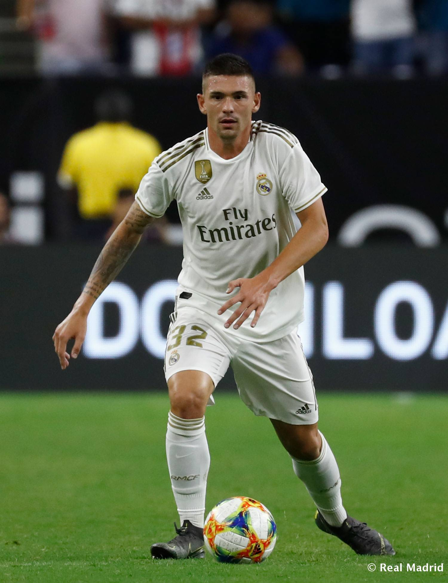 Real Madrid - Debut de De la Fuente con el Real Madrid - 21-07-2019