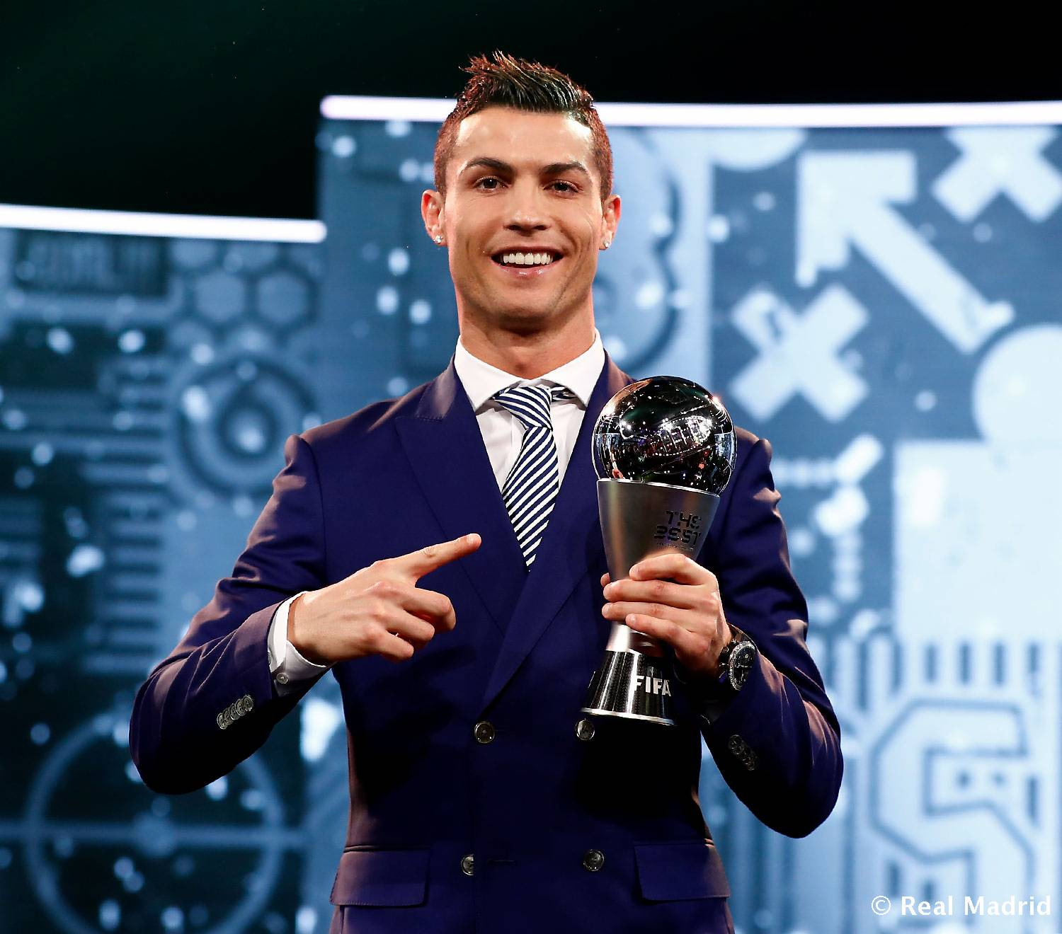 Real Madrid - Cristiano, Premio The Best - 09-01-2017