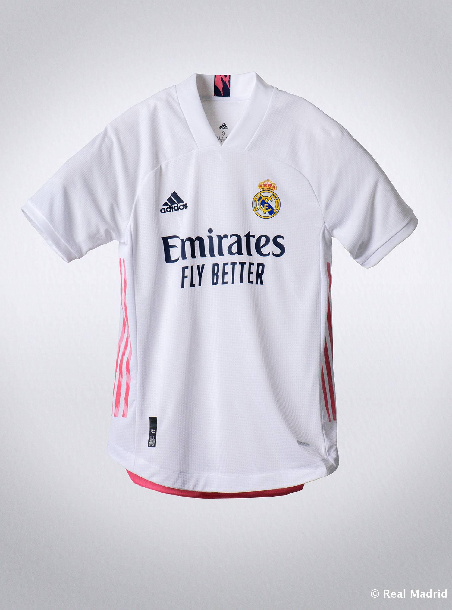 Real Madrid - Así es la nueva camiseta de la temporada 20/21 - 30-07-2020