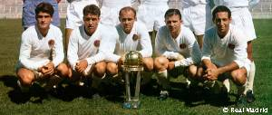 Real Madrid win the first ever Intercontinental Cup in 1960