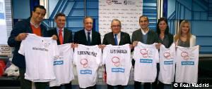 Florentino visita hospital en Pamplona