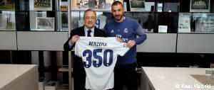 Benzema 350 Partidos
