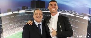 Acto de renovación de Cristiano Ronaldo