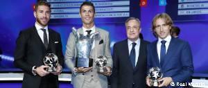 Premios por posiciones de la Champions League 16-17