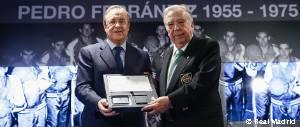 Acto de reconocimiento a Pedro Ferrándiz