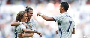 Bale, Cristiano y Modric