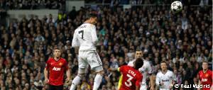 Real Madrid - Manchester United. Champions 2012-13. Gol Cristiano Ronaldo