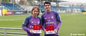 Modric y Morata jugadores 5 estrellas