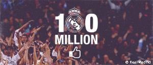 100 millones de fans